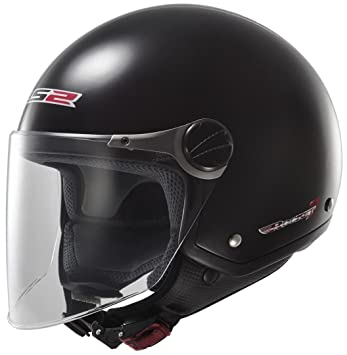 LS2 305601012XS OF560 Casco Rocket II Solid, Color Negro, Tamaño XS
