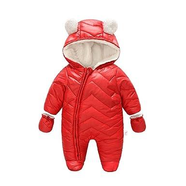13ca25377 Amazon.com  Winter California Waterproof Hooded Baby Winter Snow ...