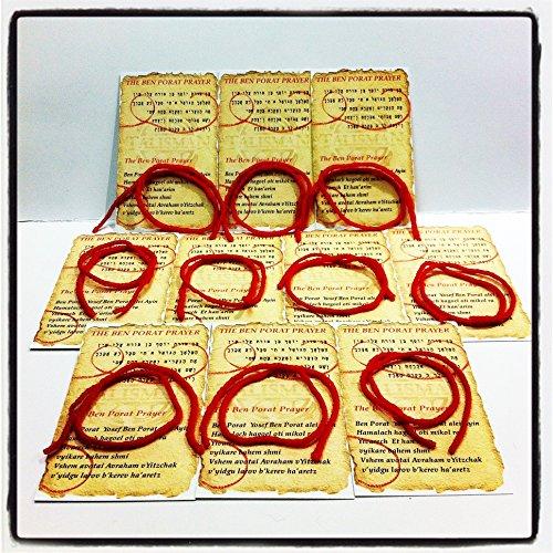 red thread bracelet - 9