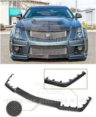 For Camaro JDM Style Racing Real Carbon Fiber Front Bumper Lip Canard Splitter
