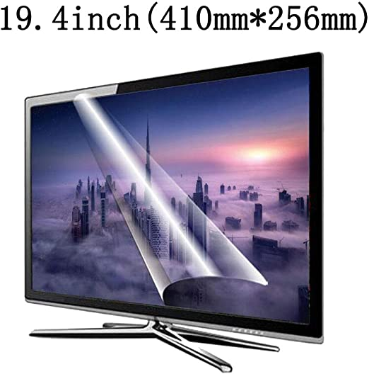 LSYOA Ultra Clear Anti Blue Light Protector de Pantalla de TV, Protección Ojos Anti Glare Screen Protector Sin Burbujas Película Protectora, Adecuado para LCD, LED, OLED y QLED 4K HDTV,19.4in: Amazon.es: Hogar