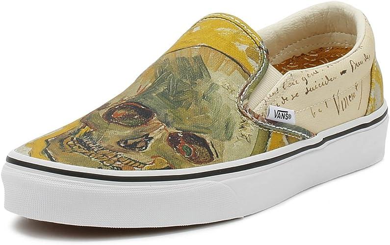 Vans Classic Slip ON Vincent Gogh Skull
