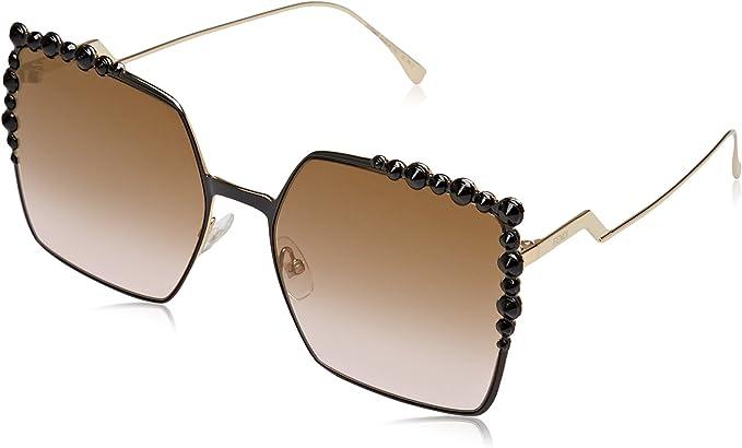 Amazon.com: Fendi - Gafas de sol cuadradas para mujer, talla ...