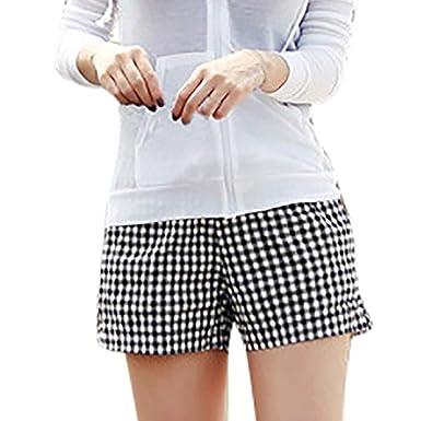 STRIR Pantalones Cortos Playa Mujer, Básicos Gimnasio ...
