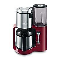 Siemens TC86503 Kaffeemaschine / 1100 Watt / 8-12 Tassen / Edelstahl-Thermokane