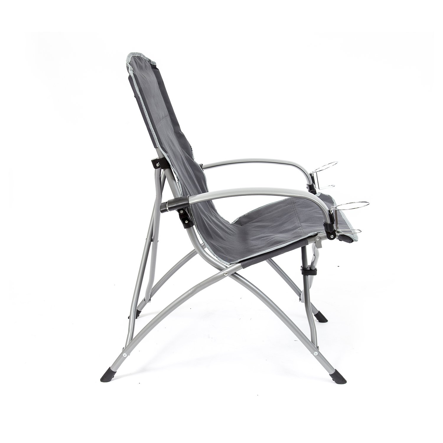 Amazon The mander Folding Armchair Grey Patio Lawn