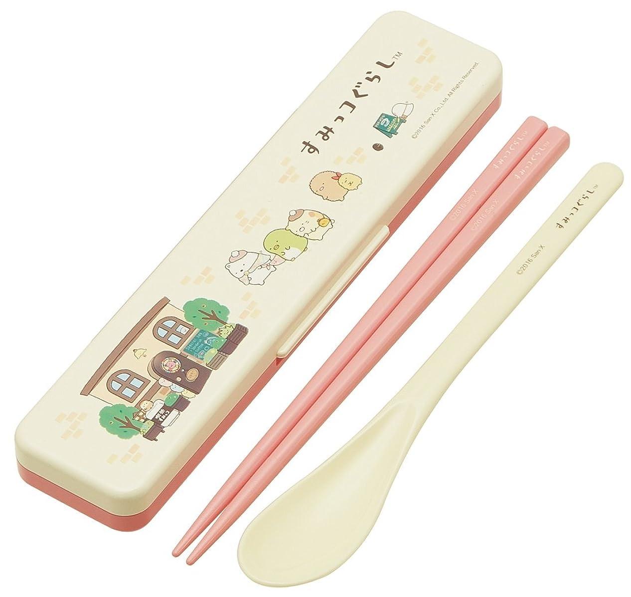 ドレイン接続詞横にUGM プラ箸&ケース(18cm箸) レッド 34061