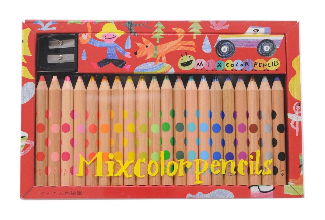 Kokuyo Farbeed Pencil Mix Farbeed pencils 20 pieces KE-AC2 Japan