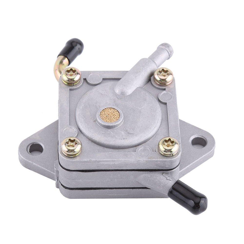 Qii lu Aluminum Gas Fuel Pump for John Deere 112L 130 LX172 180 GT242 for Kawasaki Engine FC540 FC420V