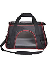 Soyan Soft Side Pet Carrier for Cats and Small Dogs, Comes with Shoulder Strap