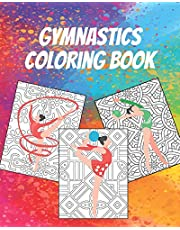 Gymnastics Coloring Book: Gorgeous Coloring Book for Everyone