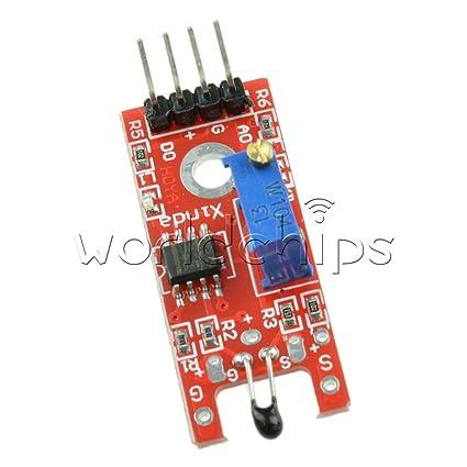 For Arduino AVR PIC DIY Maker BOOOLE Ky-028 Digital Temperature Sensor Module