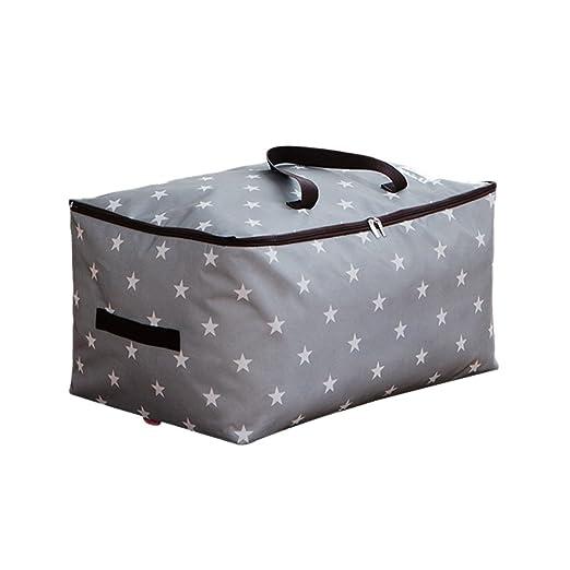 100L grande bolsa de almacenamiento bolsa de tela ropa de ...