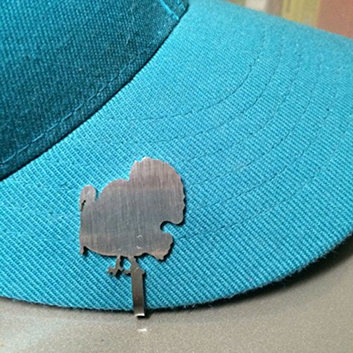Hunting And Fishing Brim Clip Hat Clasp (Turkey Clip)