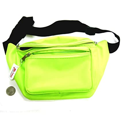 7cae5e09425f MyPartyShirt Neon Lime Fanny Pack