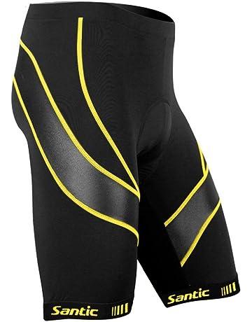 Cozone Shorts de Cyclisme Hommes,Cuissard V/élo VTT Femmes S/échage Rapide,Culotte Tampon /élastique Haute 3D Gel Rembourr/é Respirant sous-V/êtements Pantalon