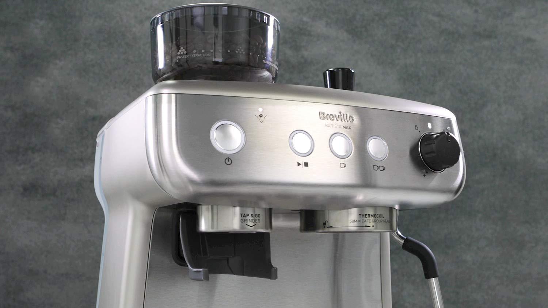 Breville Barista Max VCF126X totalmente autom/ática con molinillo integrado y bomba italiana de 15/bares M/áquina de caf/é expreso