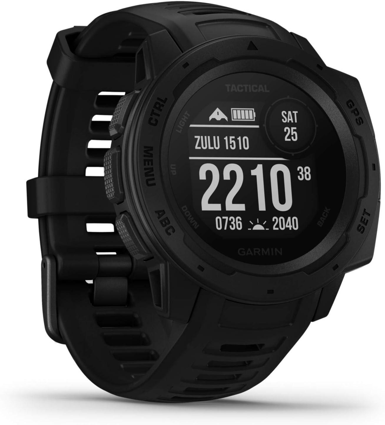 Garmin Instinct Tactical - robuste GPS-Smartwatch mit: Amazon.de: Elektronik - Garmin Uhren