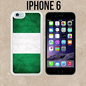 Nigeria Custom made Case/Cover/skin FOR iPhone 6 - White - Rubber Case ( Ship From CA)
