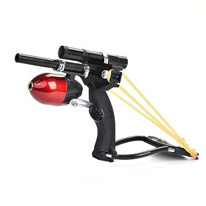 Amazon com : Assolar SS-23 Hunting Fishing Slingshot