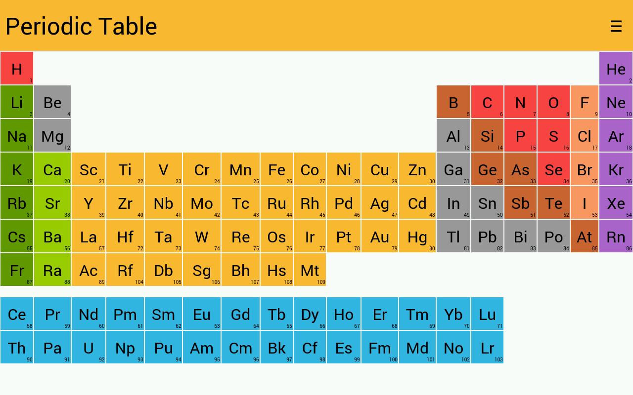 Amazon periodic table appstore for android 000 urtaz Gallery