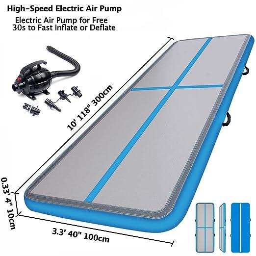 1M / 3M Esterilla Hinchable Air Floor Track para Gimnasia ...