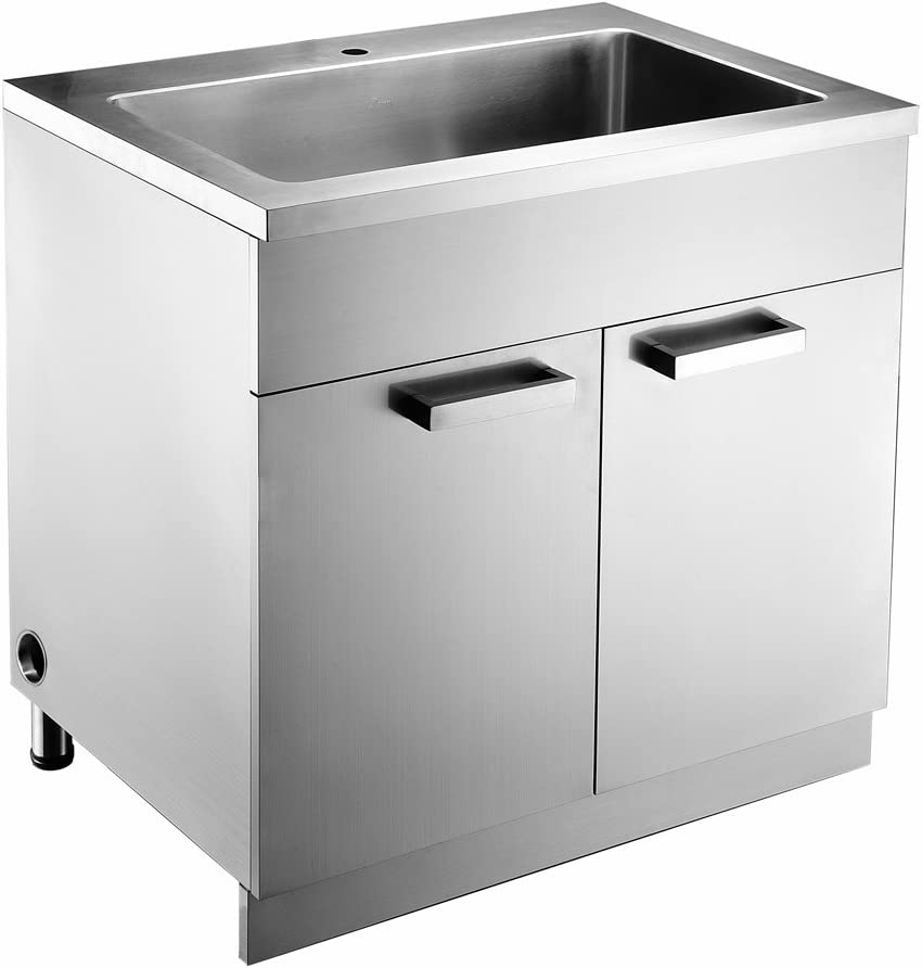 Amazon Com Dawn Ssc3336 Stainless Steel Sink Base Cabinet With