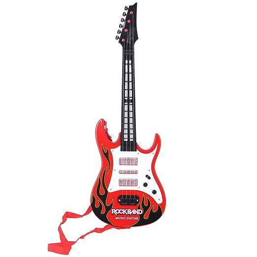 JAGENIE Fire Rock Music - Guitarra eléctrica con Instrumentos ...