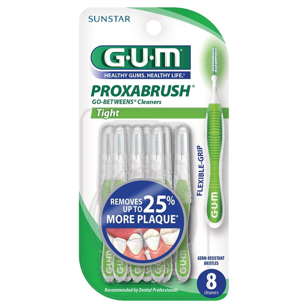 GUM Proxabrush Go-Betweens Cleaners (Pack of 18)