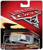 #6: Disney Pixar Cars Radiator Springs Classic Primer Lightning McQueen Die-Cast Vehicle