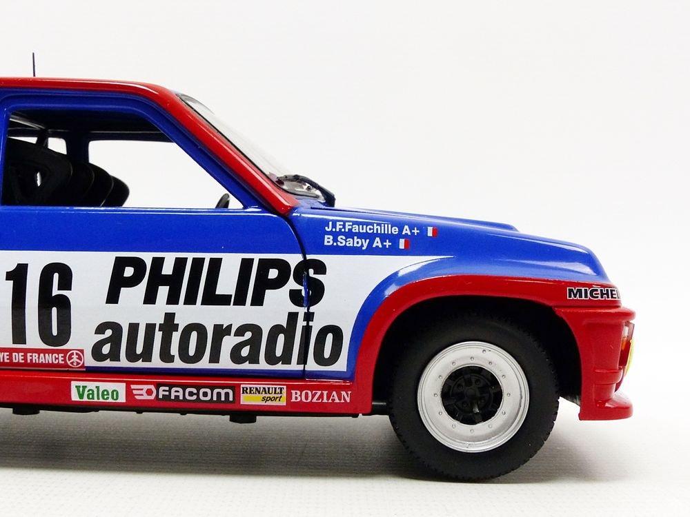 Solido 421184080 Renault R5 Turbo Grupo B, Vehículo: Amazon.es: Juguetes y juegos