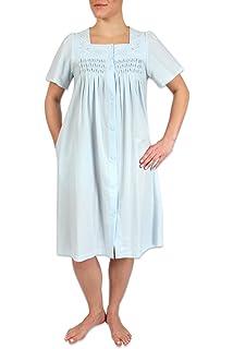 ca2862d582 Miss Elaine Women s Interlock Knit Short Robe