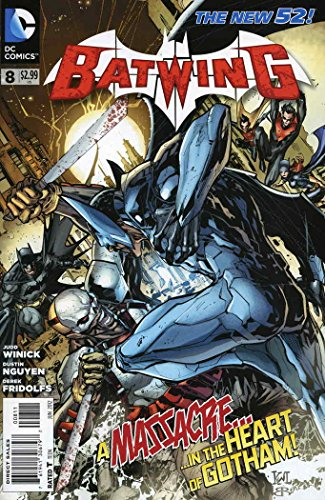 Batwing #8 VF/NM ; DC comic book