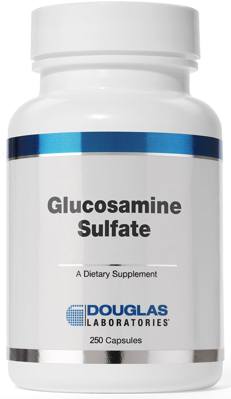 Douglas Laboratories - Glucosamine Sulfate 500 mg. - Absorbable Formula Supports Synthesis and Maintenance of Connective Tissue* - 250 Capsules