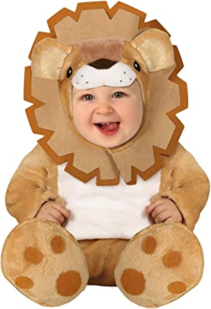 FIESTAS GUIRCA Rey león Disfraz de león de la Sabana bebé: Amazon ...
