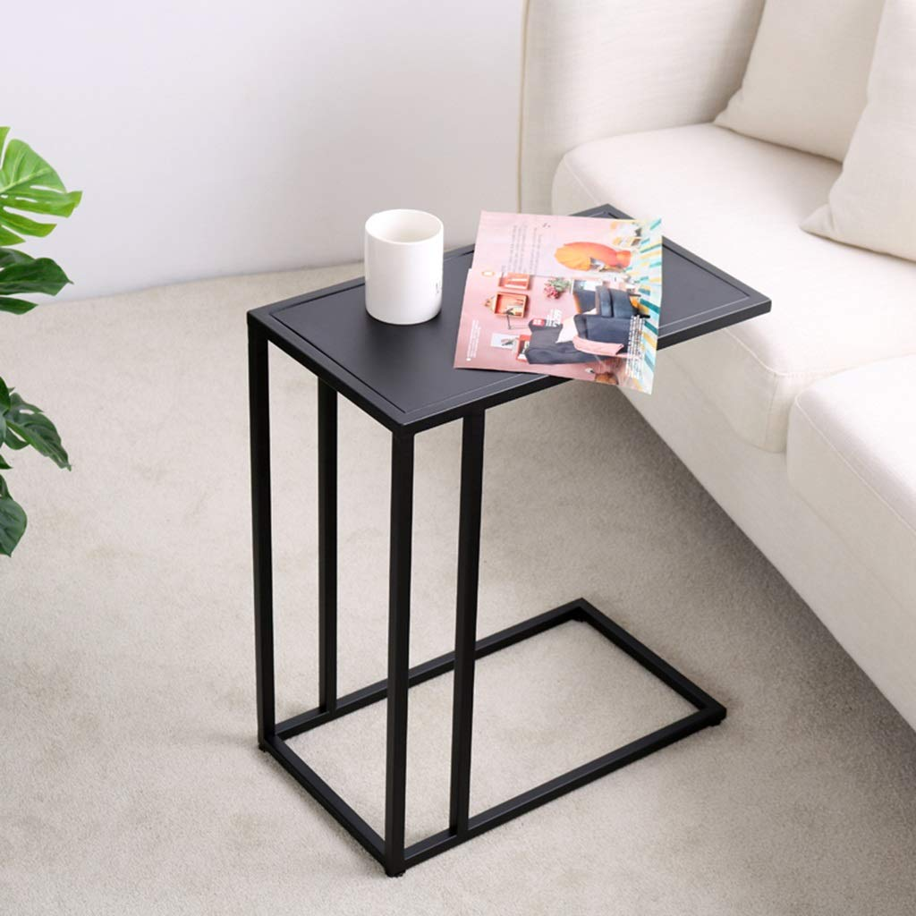 ZDNALS Bedside Table Small Coffee Table Small Side Table Seating Area Sofa Side Cabinet Side Bed Table Small Apartment,Metal Bedside Table Bedside Table