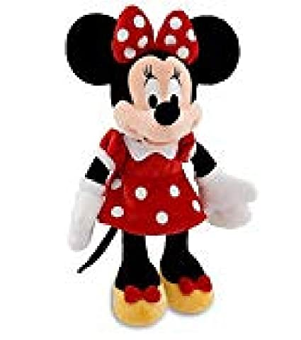 Amazon Com Disney Exclusive Large Red Minnie Mouse Plush Toy 27