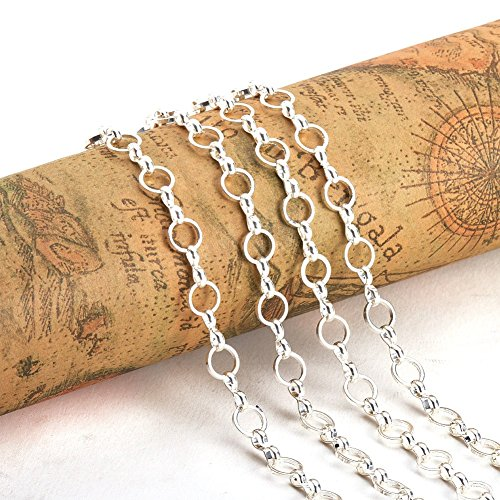 PandaHall Handmade Mother son Chains Jewelry