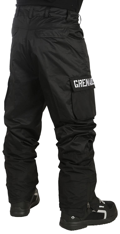 972e0b88acb Amazon.com  Grenade Cargo Snowboard Pants Mens Black  Clothing