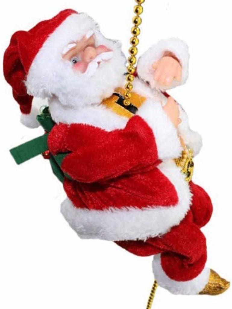 ZPBDC Santa Que Sube Escalera Eléctrica de Santa Claus ...