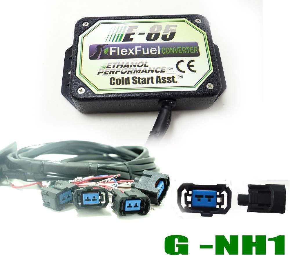 biocarburant E85 Kit Ethanol E85 4-cylindres 4cyl E85 Kit de Conversion Carburant Alternatif /à l/éthanol avec d/émarrage /à Froid convertisseur de bio/éthanol BOSH EV1 Voiture /à l/éthanol