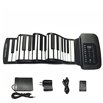 JIAFU 88 Key Roll Up Piano