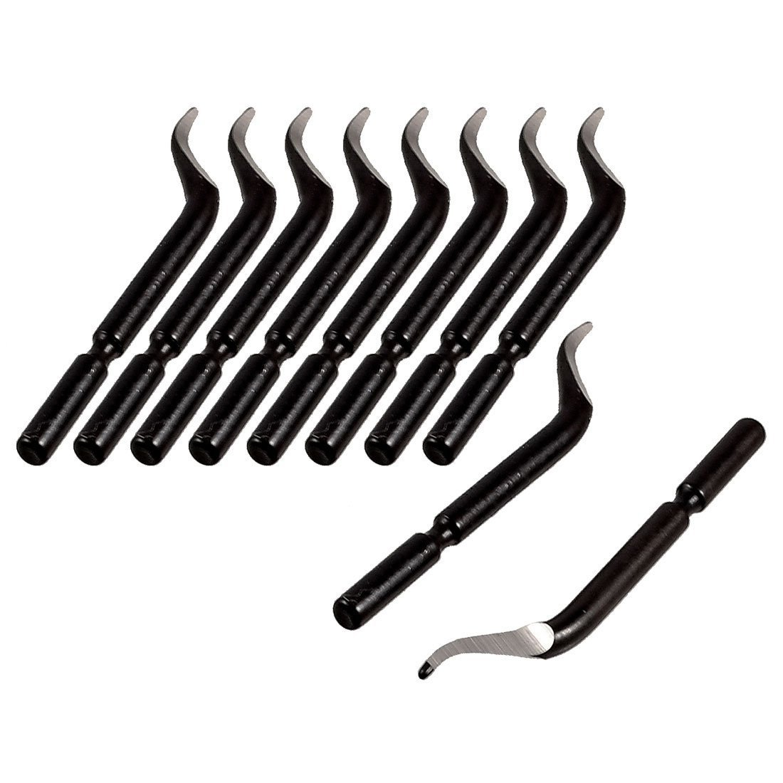 Deburring Blades - SODIAL(R) Replacement Deburred Tool BK3010 S150 Deburring Blades 10 Pcs 065191