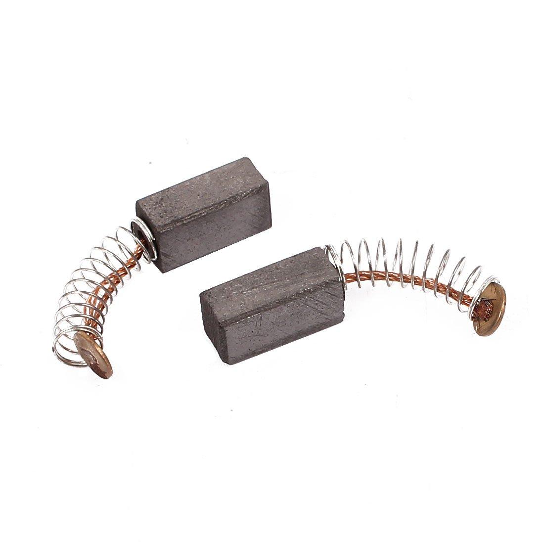 Aexit 10 Accessoires pour ponceuses paires 12x6x5mm brosses /à charbon Outil /électrique pour moteur /à Pi/èces de rechange percussion /électrique