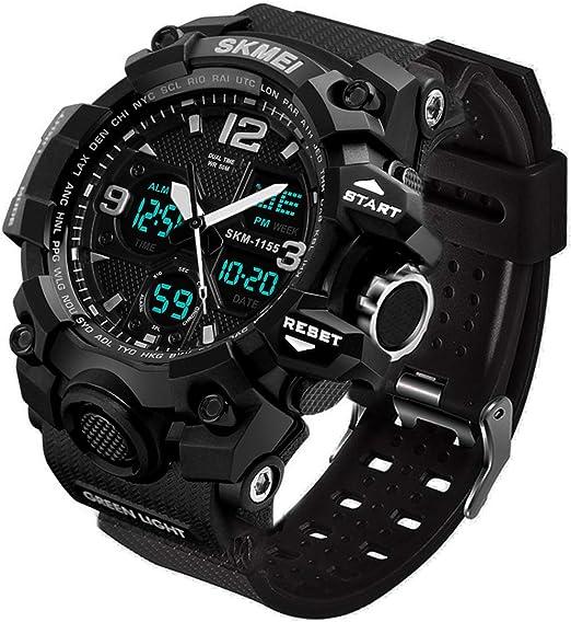 Amazon.com: Aposon Reloj deportivo de hombre, grande, color ...