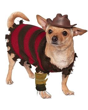traje del perro Freddy Krueger L: Amazon.es: Juguetes y juegos
