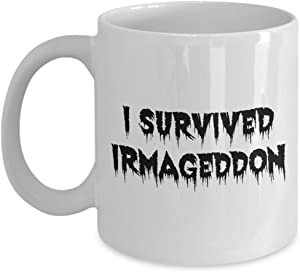 Irmageddon Hurricane Irma Relief 11 oz White Mug