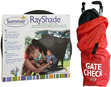 Amazon.com: Summer Infant Ray Shade UV Bolsa de carriola ...