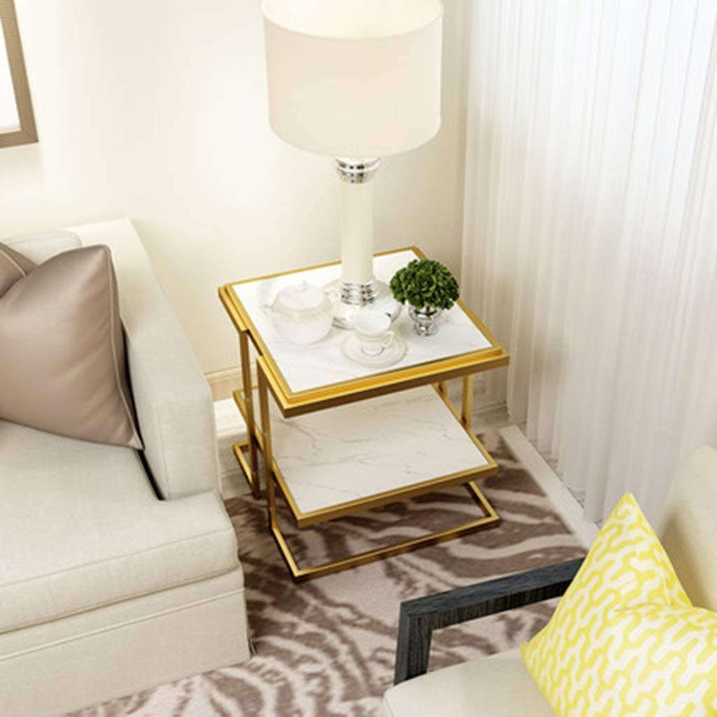 Amazon.com: Mesas de café para el hogar, mármol, pequeño ...