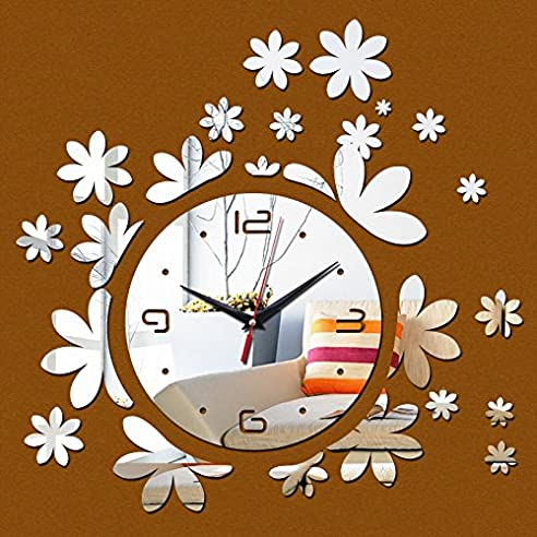 NabothT Neue Wanduhren Modern Design Wanduhren Uhren Wand Dekoration Große  Digitale Uhr^3 Hell Ihr